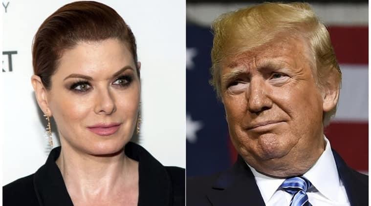 Trump again attacks 'Will & Grace' actress Debra Messing