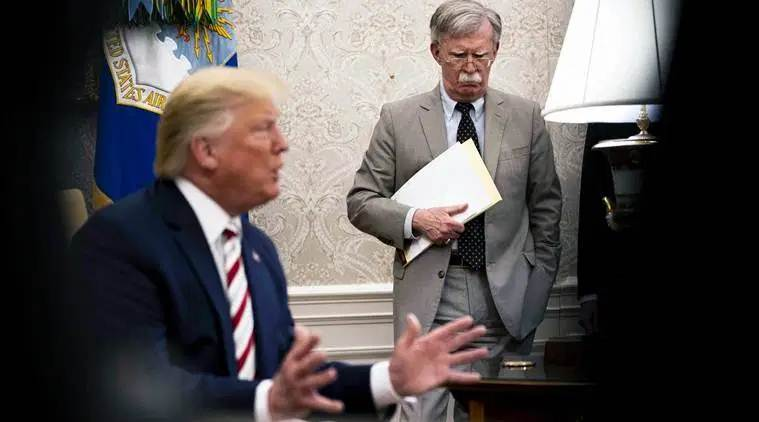 John Bolton made some very big mistakes: Donald Trump