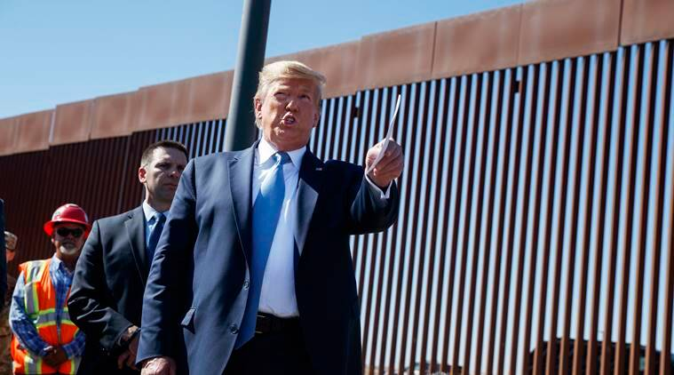 Donald Trump calls new border wall a 'world-class security system'