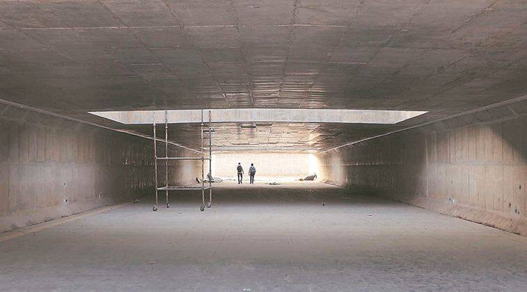 Chandigarh: Underpass connecting sectors 16 and 17 awaits inauguration