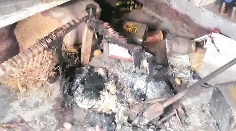 UP Police, Uttar Pradesh Police, Dalit burnt alive, UP Dalit burnt alive, Lucknow news, city news, Indian Express