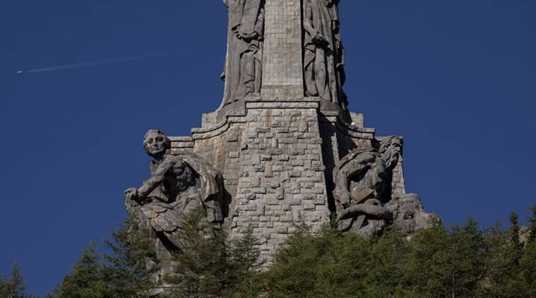 Francisco Franco, Spain, exhumation of Franco's remains, Pedro Sanchez, Valley of the Fallen mausoleum, Mingorrubio El Padro, indian express latest news
