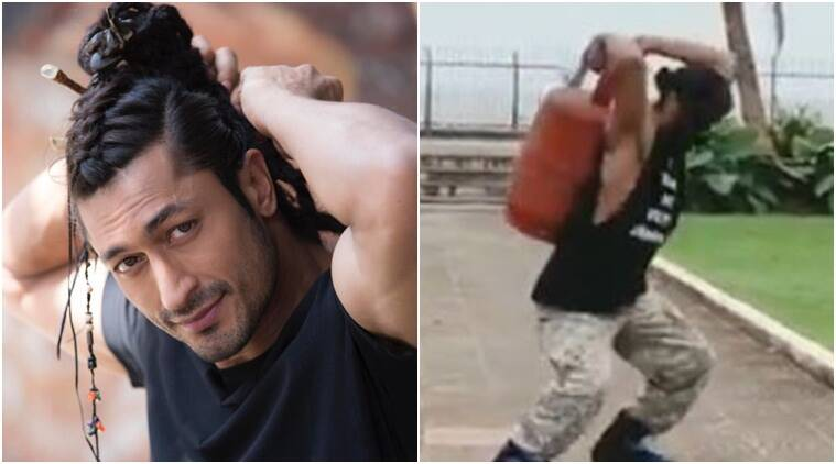 vidyut jammwal workout video