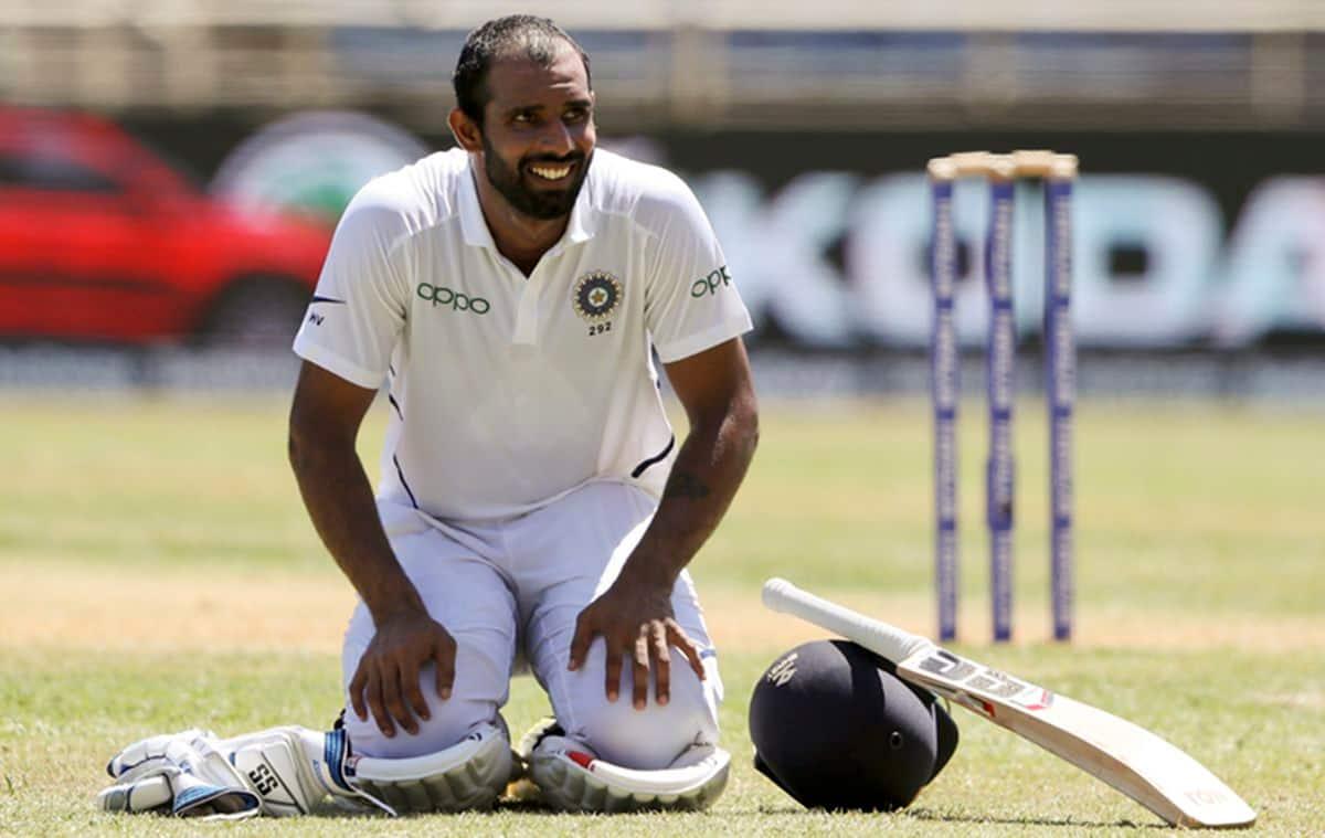 Hanuma Vihari, Ravi Shastri, Hanuma Vihari batting stance, Hanuma Vihari Test hundred, India vs West Indies 2nd Test, West Indies vs India 2nd Test, India's tour of West Indies 2019