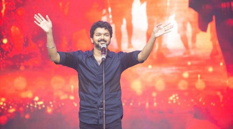 vijay at bigil audio launch