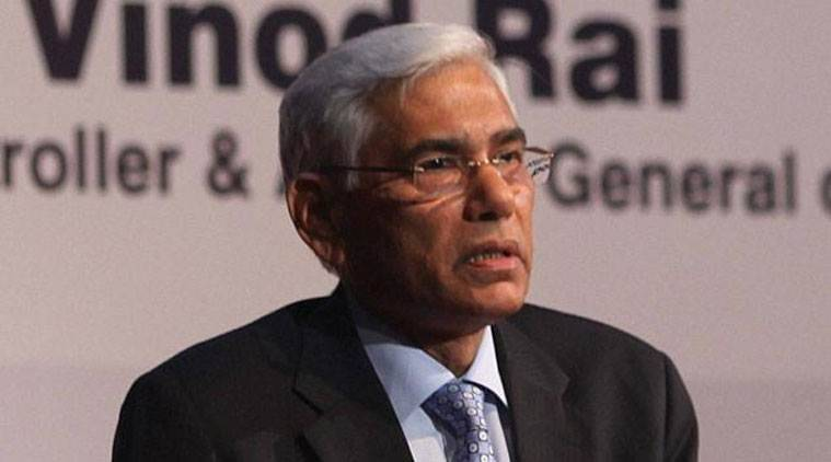 Committee of Administrators chief Vinod Rai.