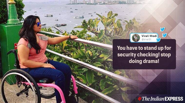 Woman wheelchair asked to stand up Delhi airport, CISF, CISF asks wheelchair bound woman to stand
