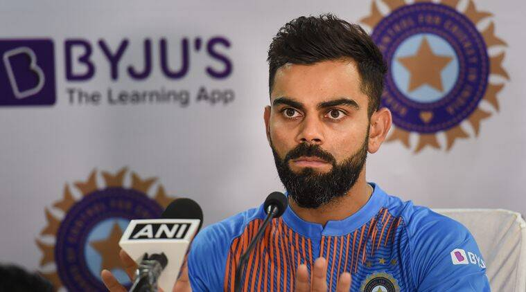 virat kohli, kohli, india captain kohli, kohli dhoni, ms dhoni, dhoni, south africa tour of india, india vs south africa, kohli press conference, india cricket, indian express news