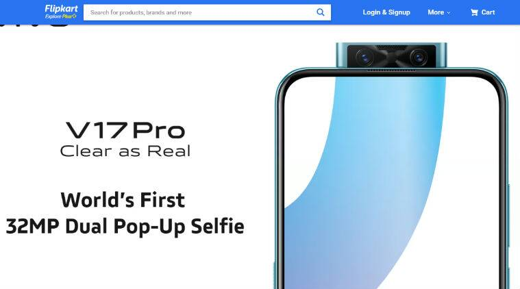 Vivo V17 Pro India Launch Highlights: 32MP dual pop selfie camera, four cameras at the back