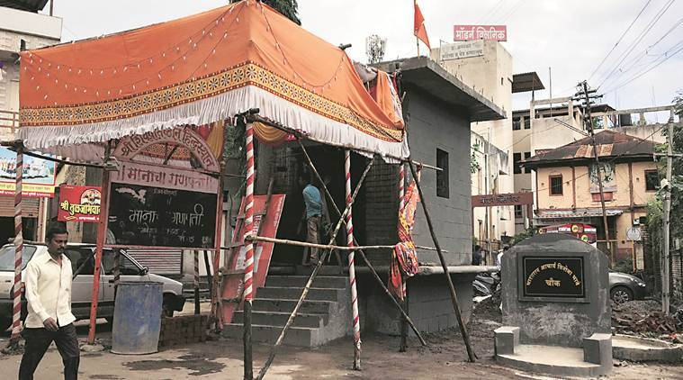 On 125th birth anniversary year of Vinoba Bhave, row over illegal temple on space meant for memorial in Satara's Wai