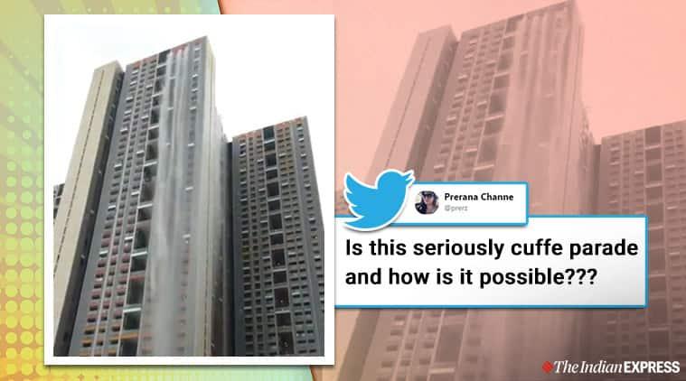 Waterfall or Mumbai rains? Here's why water was gushing down