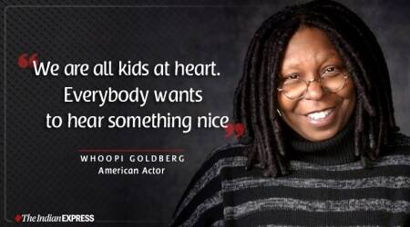 Whoopi Goldberg, indianexpress.com, life positive, good morning, good morning messages, good morning quotes, american actor whoopi goldberg, inspiring video whoopi goldberg,