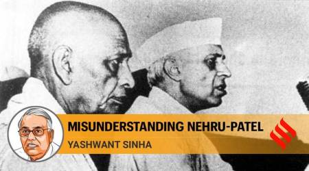 jawaharlal nehru, sardar vallabhbhai patel, nehru patel relation, indian politics, congress party, indian express, the ideas page