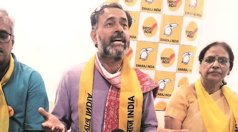 Will be in Karnal today, come for a debate on jobs: Yogendra Yadav to Khattar