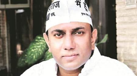 punjab news, punjab aam aadmi party, AAP yogeshwar arrest, AAp arrest leader
