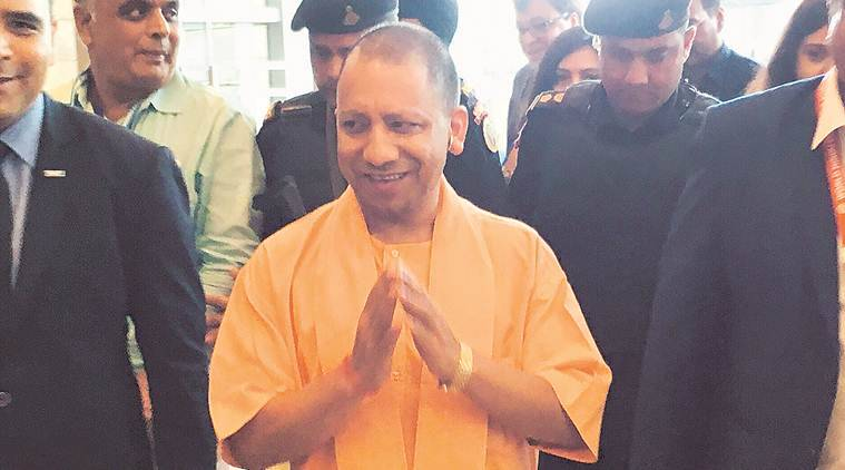 yogi adityanath on uppcl, eppcl employees provident fund, dhfl, samajwadi party, uttar pradesh news, indian express