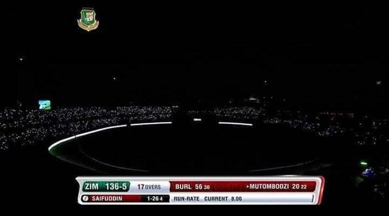 When complete blackout halted Bangladesh vs Zimbabwe T20I game at Dhaka