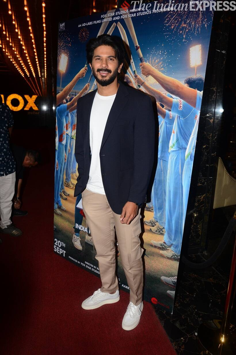 Dulquer Salmaan at The Zoya Factor screening