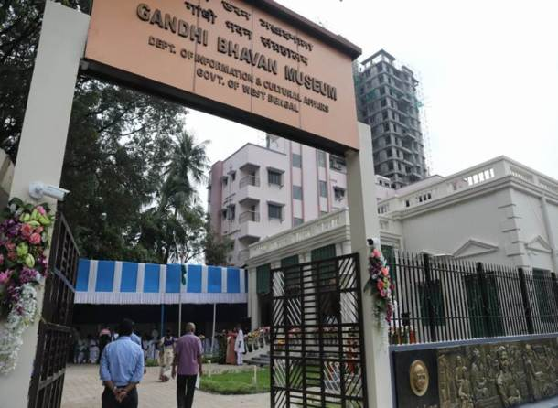 Hyderi Manzil, Gandhi Museum, Gallery, Indian Express news