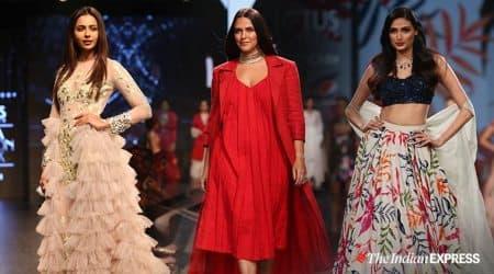 Rakul Preet, Designer Divya Reddy, Lotus India Fashion Week