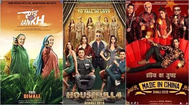 saand ki aankh, housefull 4 and made in china box office