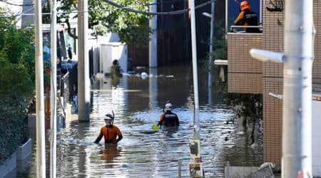 Japan floods, Tokyo Floods, Japan rains, Tokyo rains, Typhoon Hagibis, Japan news