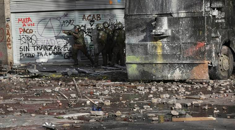 Chile protests, Chile emeregency, Chile metro fare hike protests, Chile demonstrations, Chile news
