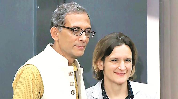Couple Abhijit Banerjee and Esther Duflo share Nobel for Economics