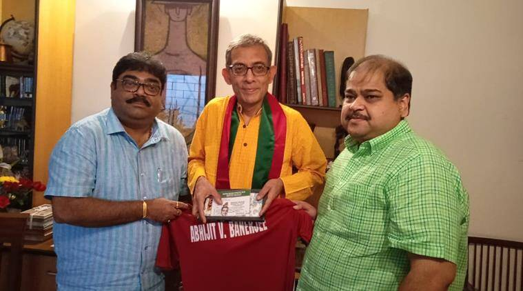 Noble Laureate Abhijit Banerjee wants to watch Mohun Bagan in action from the stands
