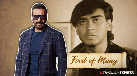 ajay devgn phool aur kaante acting debut
