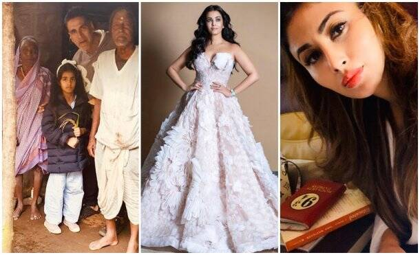 Akshay Kumar, Aishwarya Rai, Mouni roy, Celebrity social media photos