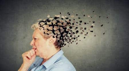 Alzheimer's disease, memory loss, signs, indian express, indian express news
