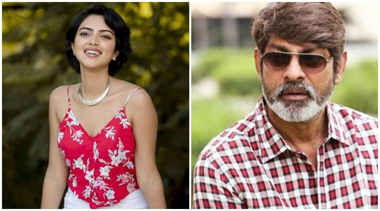 Amala Paul and Jagapathi Babu in Nandini Reddy Telugu Lust Stories