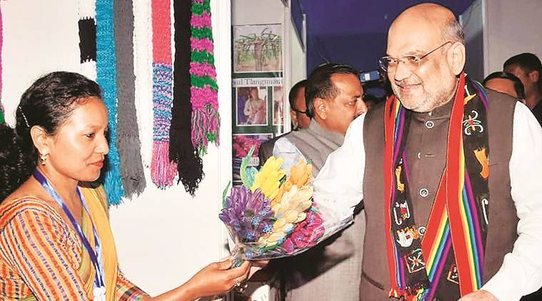 Amit Shah Mizoram, Mizoram Civil society, Citizenship Bill Assam, Indian Express news