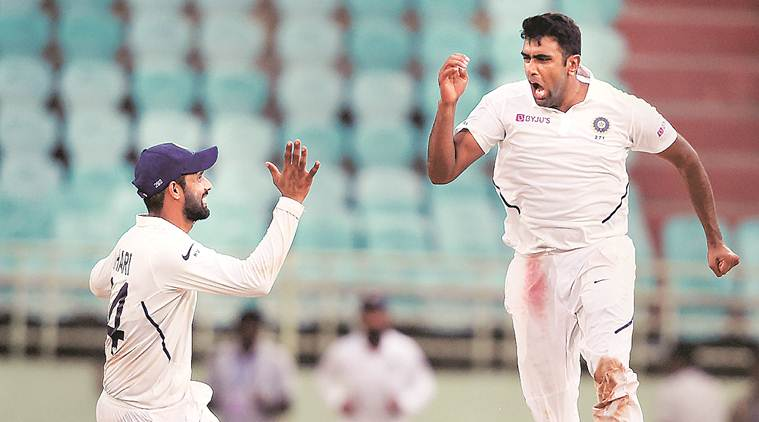 After being out for a year, R Ashwin made a great comeback in the team, hit