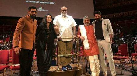 Baahubali screening in Royal Albert Hall