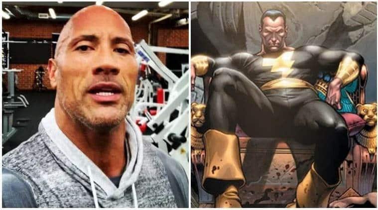 Black Adam Dwayne Johnson