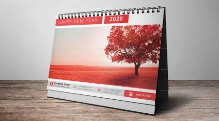 2020 Calendar, Calendar, Vacation