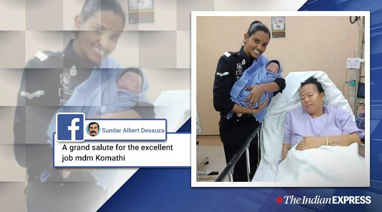 Policewoman helps deliver child in taxi, baby is named after her