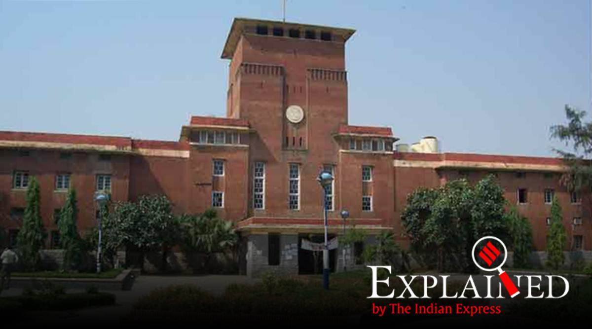 DU Hindi Dept row: How does a professor become Head of Department?    Explained News,The Indian Express