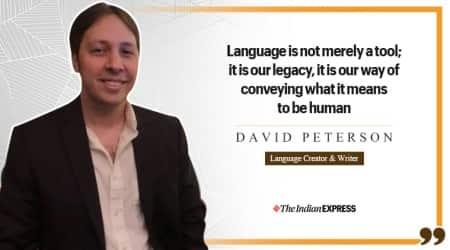 david peterson, language creator, linguist, languages, life positive, indian express, indian express news