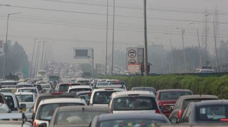 Coronavirus lockdown, Delhi borders, Delhi traffic, Delhi news, indian express news