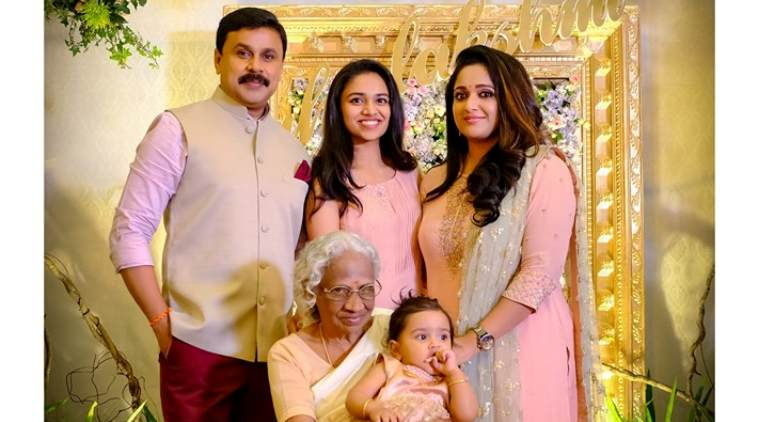 First Photo Of Dileep And Kavyas Daughter Out -2394