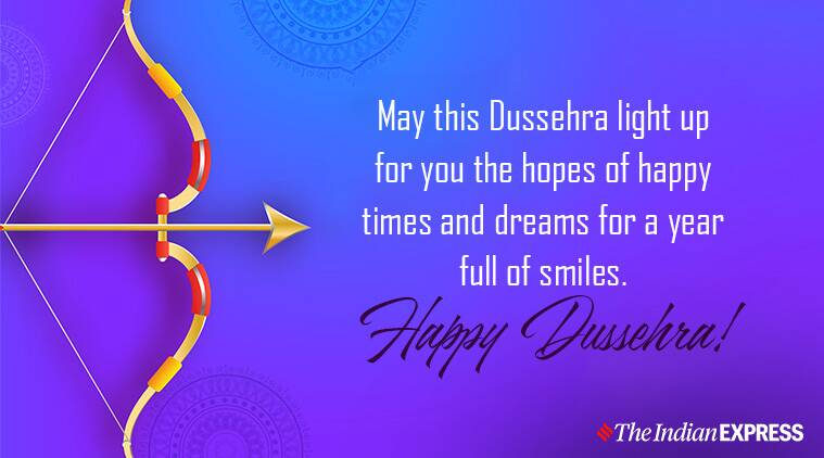 Dussehra, Dussehra 2019 wishes, Happy Dussehra, Indian Express, Indian Express news
