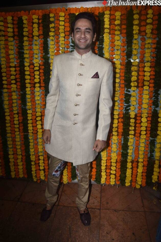 Vikas Gupta at Ekta Kapoor party