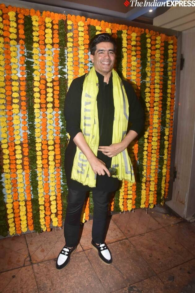 Manish Malhotra at Ekta Kapoor party