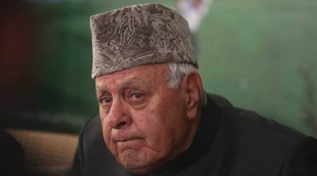 Farooq Abdullah, Farooq Abdullah detention, Public Safety Act, Jammu and Kashmir, Lt Governor G C Murmu, National Conference, indian express, Devender Singh Rana