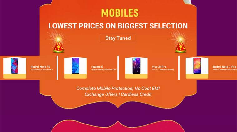 Flipkart's Big Diwali sale back on October 21-25: Discounts on Redmi Note 7 Pro, Realme 5 and more