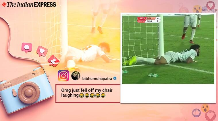 funny commentary, isl match funny commentary, funny football commentary, abhay deol, viral video, indian express