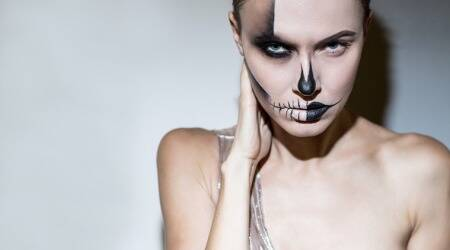 Halloween makeup,Halloween 31st october, Halloween makeup inspiration, Halloween makeup tutorials, Halloween makeup tik tok, tik tok, fashion, indian express lifestyle